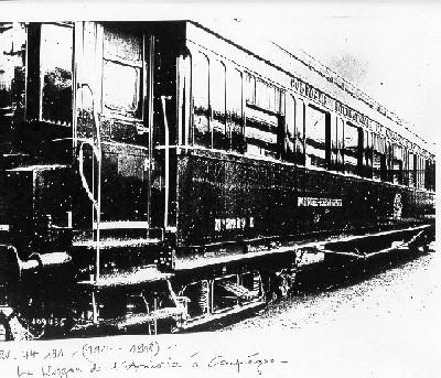 wagon de l'armistice forêt de rethondes LOW